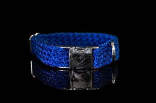 Blue Metallic Collar