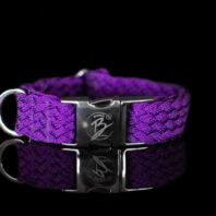 Purple Metallic Collar