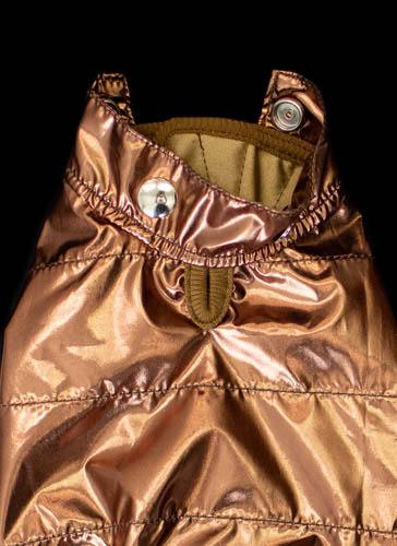 Copper Rain Coat Detail