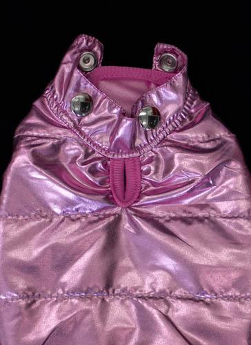 Pink Coat Detail