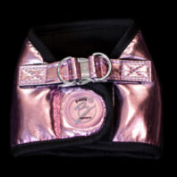 Pink Faux Leather Harness Jacket