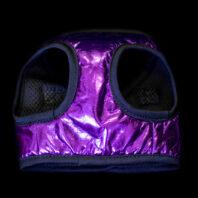 Purple Faux Leather Harness
