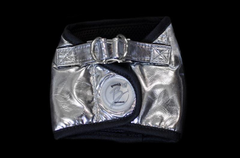 Sliver Faux Leather Harness Jacket