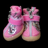 Pink Glitter Mesh