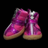 Pink-Purple Haze Mesh Dog Booties