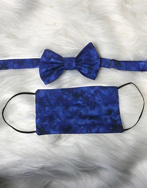 Blue Face Mask Set