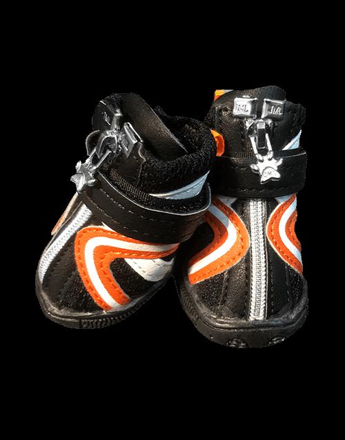 Orange Dog Boots