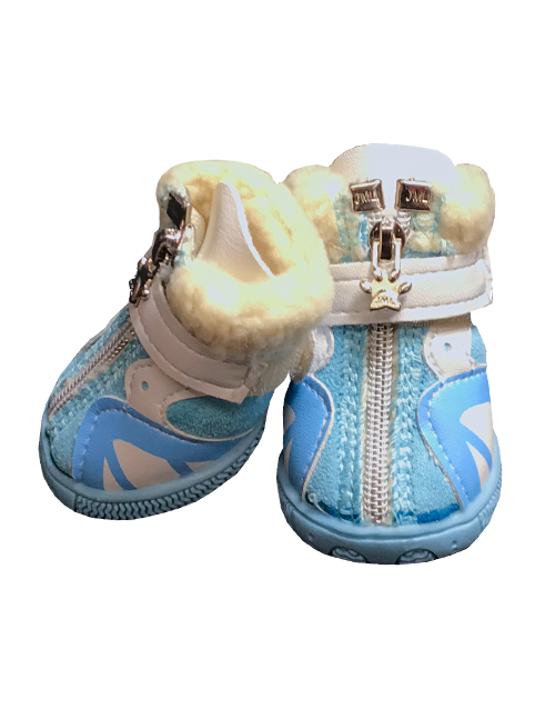 blue dog booties