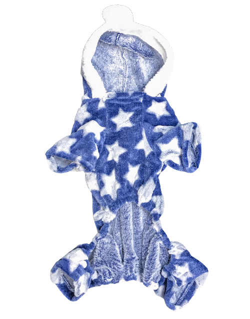 blue dog onesie