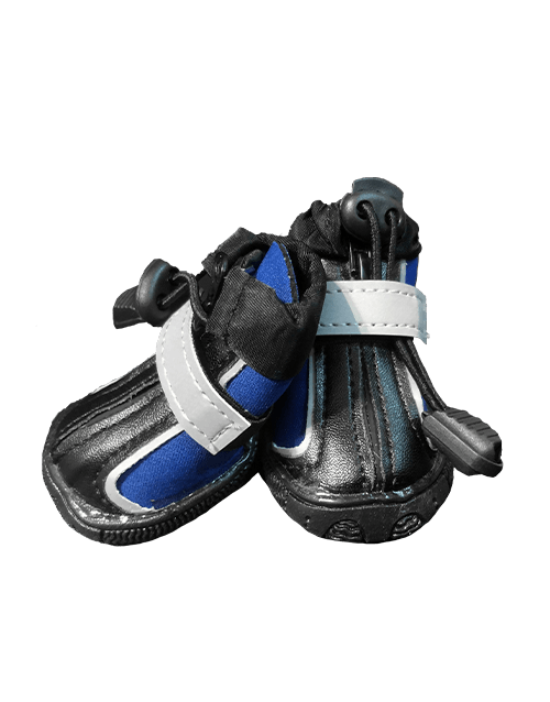 Blue Waterproof Dog Boots